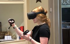 Students test virtual-reality physics classroom from home