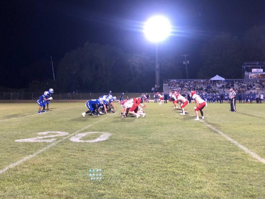 The Patriots and Rebels face off under Natchez