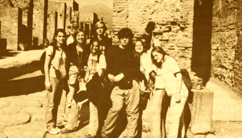 """FROM THE ARCHIVES (Vol. XXVIII, No. 5 – April 1998): """"Prep Latin buffs invade ancient Italy"""""""
