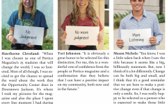 """3 seniors named """"25 students who will change the world"""""""