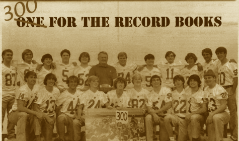 "FROM THE ARCHIVES (Vol. XLIII, Issue 1 - Oct. 2012): ""300 FOR THE RECORD BOOKS"""