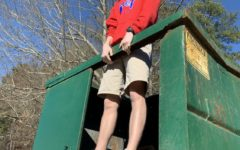 What is it? Dumpster diving and food waste