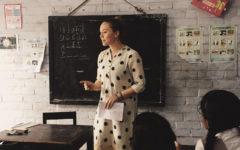 Caroline Jones teaching in India