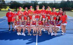 Prep's tennis 'A' team