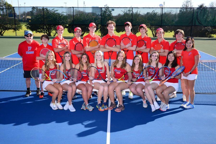 Preps tennis A team