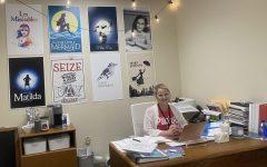 Ms. Emily Waterloo in her office.